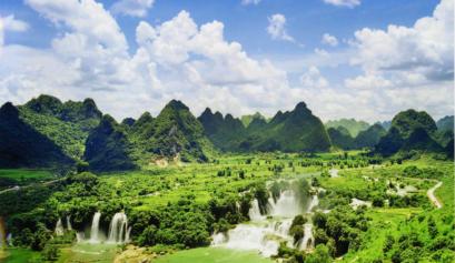 la cascade de Ban Gioc - la plus magnique à Cao Bằng