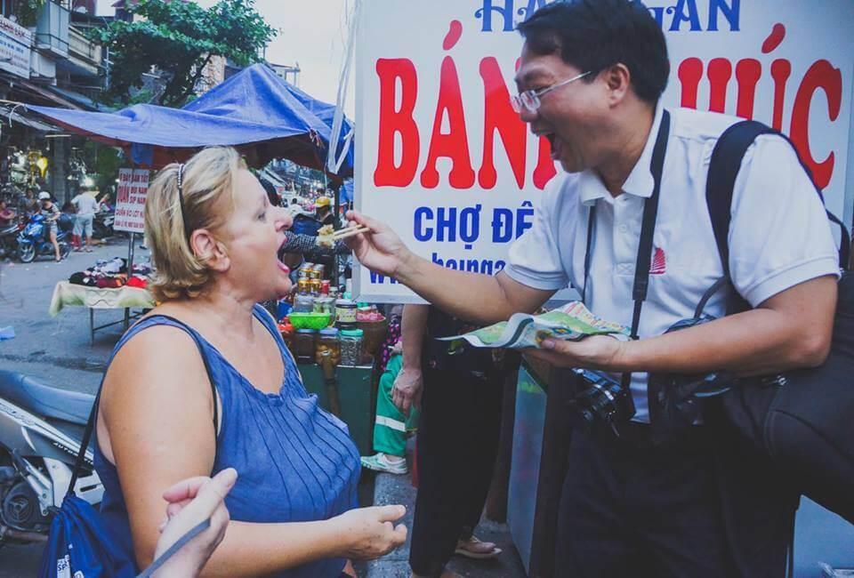 viaggio cibo di strada Hanoi