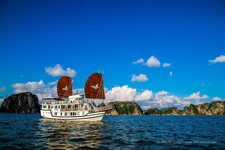 la fairy sails halong