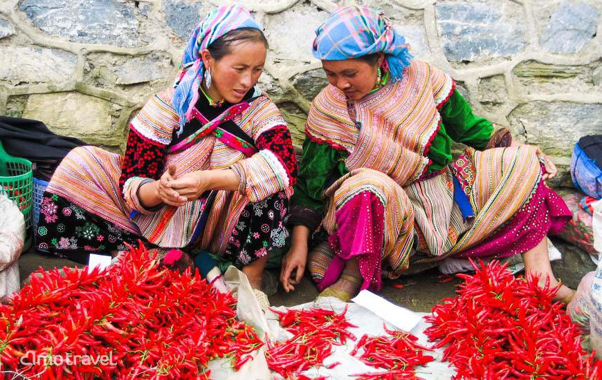 Il mercato di Bac Ha Vietnam