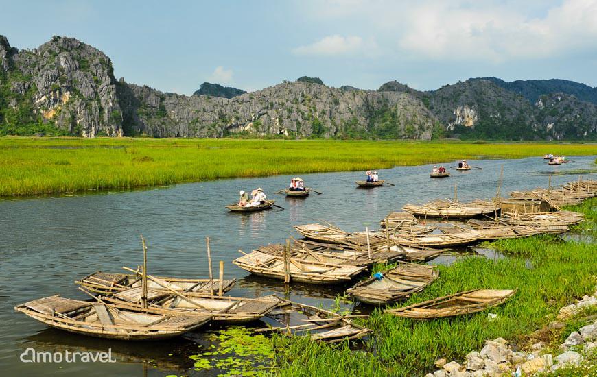 Viaggio a Van Long Ninh Binh con Amo Travel