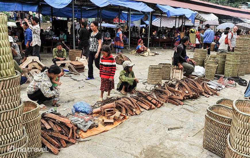Il mercato di Bac Ha.